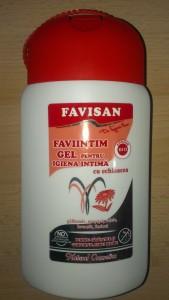gel pentru igiena intima cu echinaceea Faviintim de la Favisan