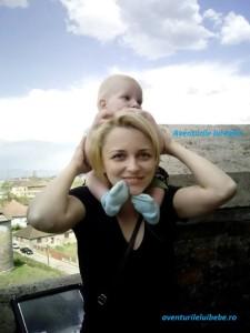 Cu Albert la Castelul Corvinilor in Hunedoara