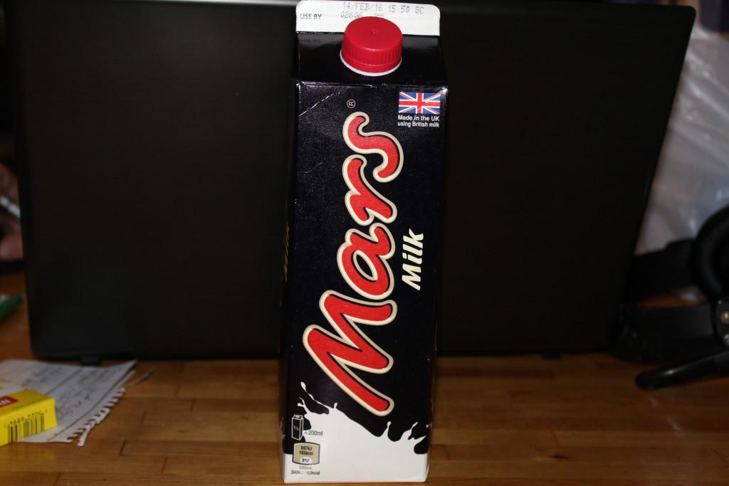 lapte Mars